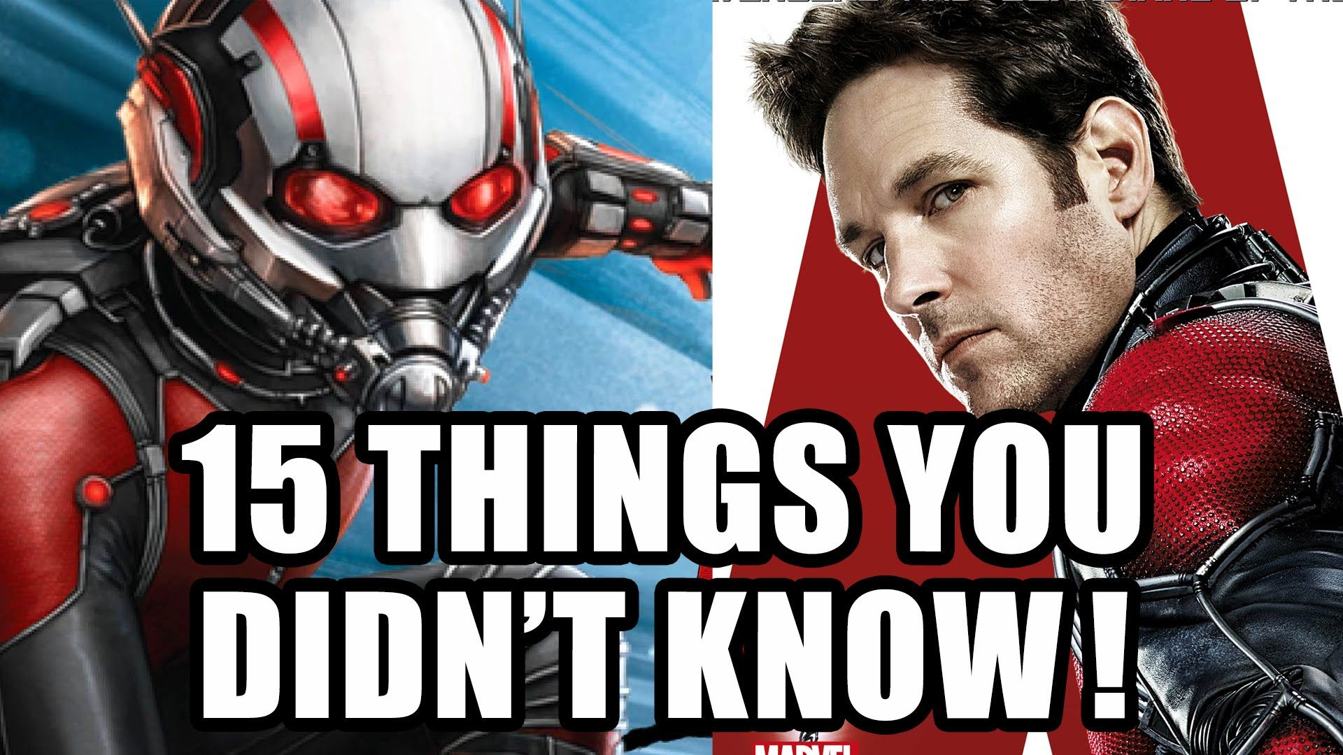 15 Things You Didn't Know About Ant-Man