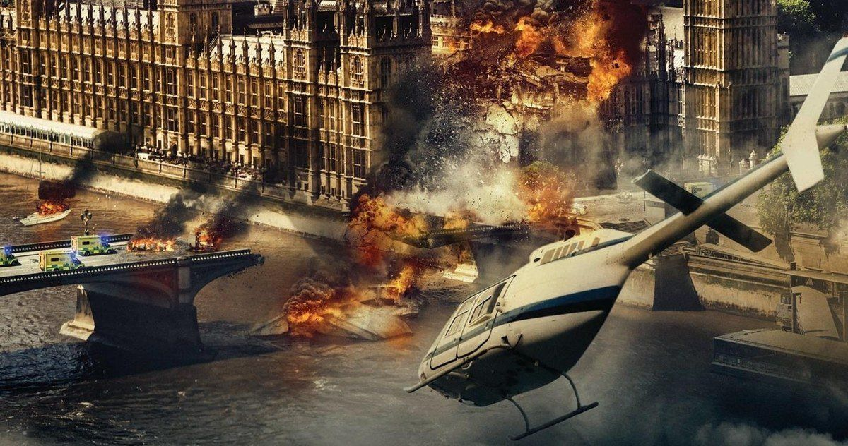 London Has Fallen Blu Ray Preview Blows Up Chelsea Bridge