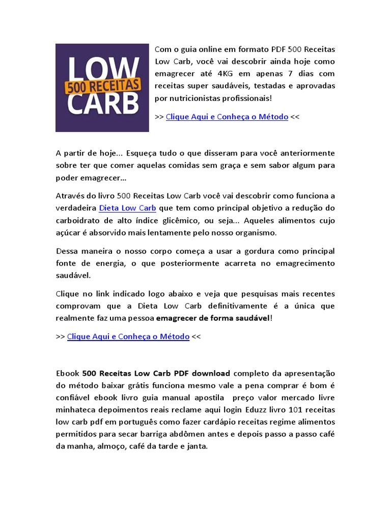 Pin De Marketing Online Em Marketing Digital Receitas Low Carb