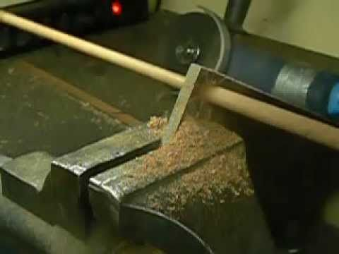 10mm Dowel Making With A Homemade Cutter And A Battery Drill Youtube Battery Drill Cool Things To Make Drill
