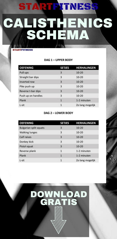 fitness diet schema