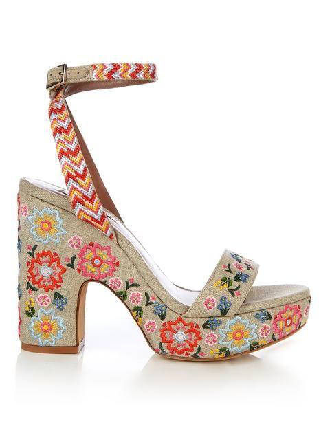 94f3784b4 Tabitha Simmons Calla linen embroidered platform sandals