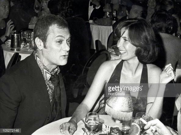Tony Curtis And His Wife Leslie Allen Mid 70s Tony Curtis