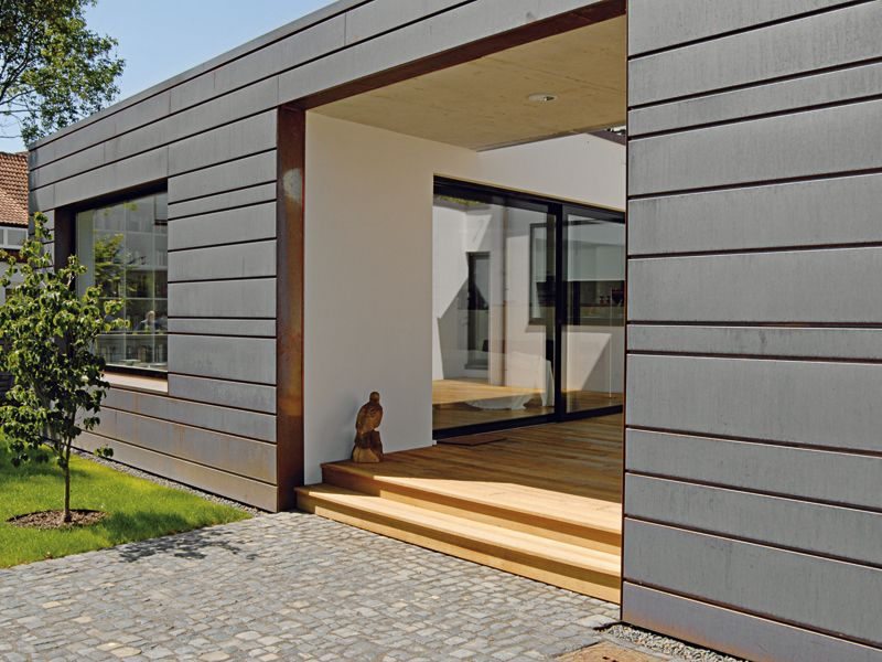 Neue Materialien Fur Die Fassade Renovieren De Fassade Fassade Haus Renovieren