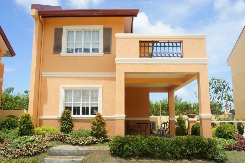 Drina Model House Of Camella Home Series Iloilo By Camella Homes