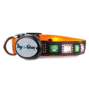 Top Paw Glow Paw Light Up Dog Collar Collars Petsmart Up Dog Reflective Dog Harness Pet Costumes
