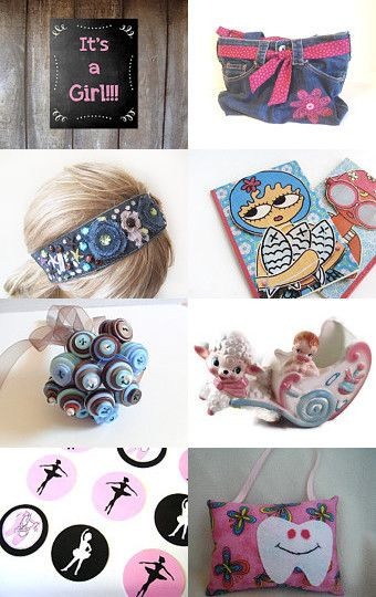 Congratulations !!! It's a Girl !!! by hagai koreh on Etsy--Pinned with TreasuryPin.com