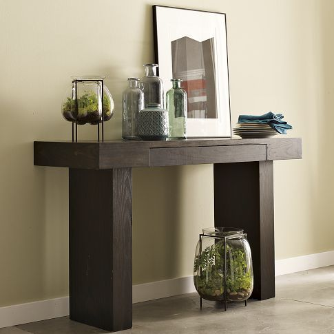 Terra Console West Elm 349 Perfect Size 48 Wide With Drawer