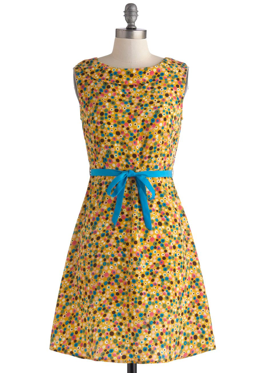 Spotted in Dots Dress, #ModCloth