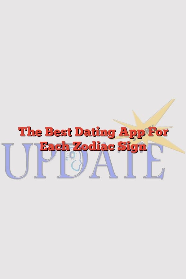 Zodiac Sign dating app skiller seg ut online dating profil