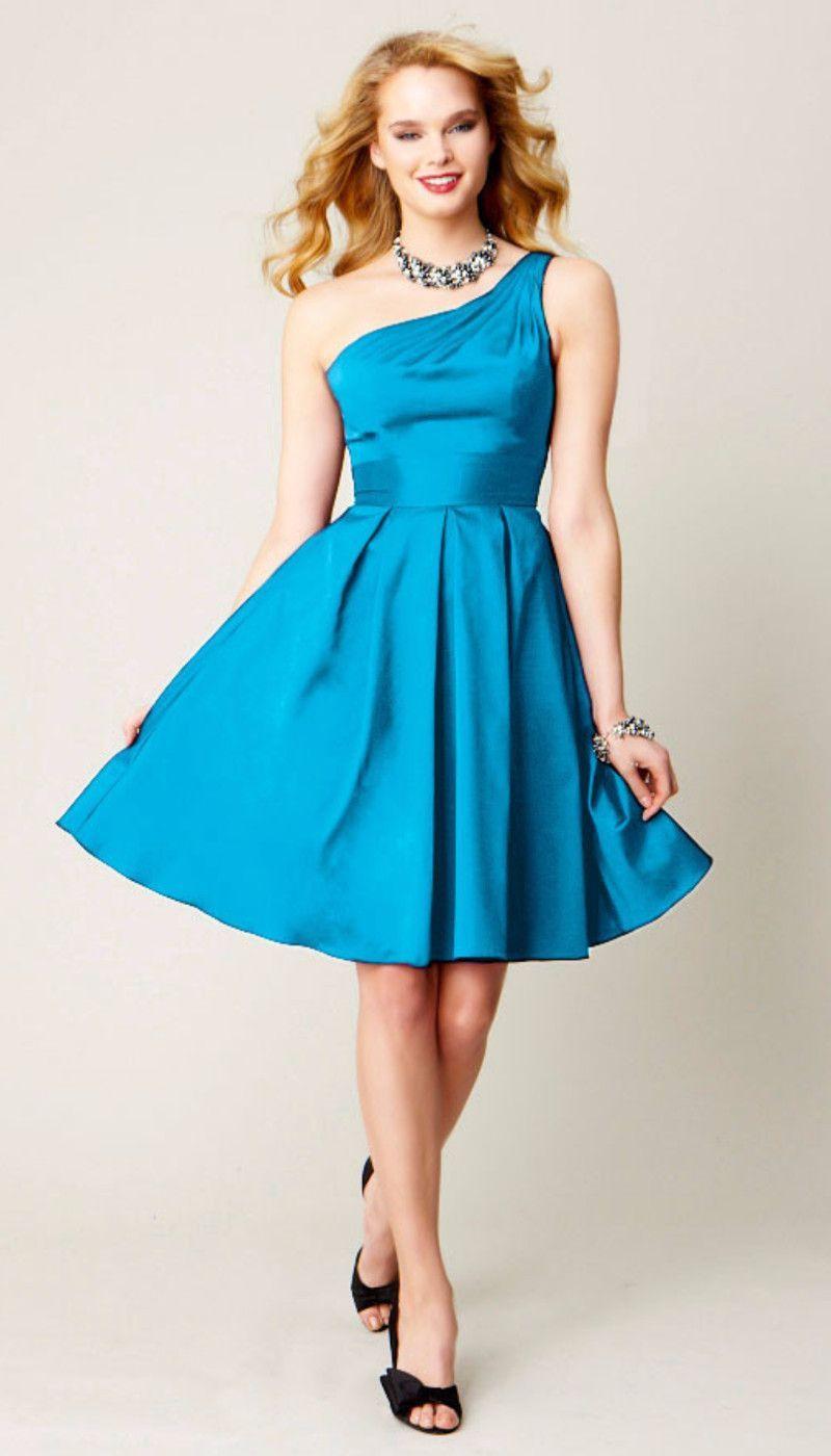 Paige Taffeta Bridesmaid Dress | Wedding | Pinterest | Taffeta ...