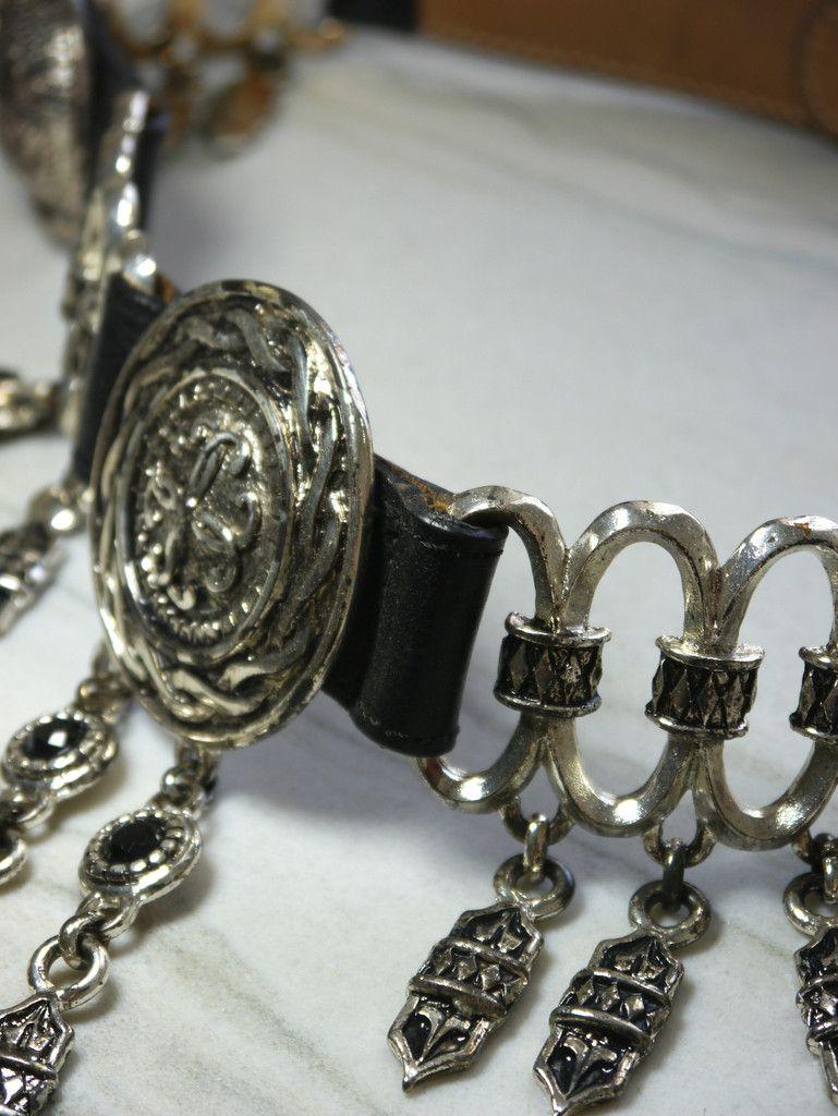 Silver Coins Belt