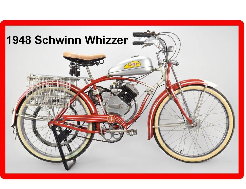1948 Schwinn Whizzer Motor Bike Refrigerator Tool Mag Rhpinterest: Whizzer Wiring Diagram At Elf-jo.com