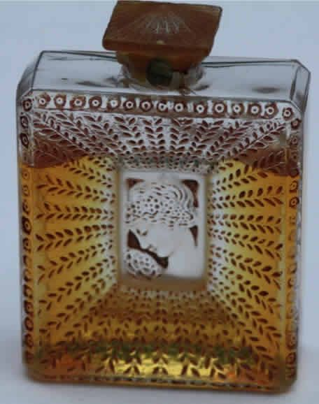 Lalique Perfume Bottle La Belle Saison