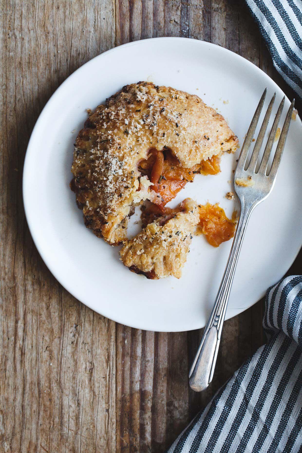 Rosemary Peach Hand Pies with White Chocolate Mascarpone ...
