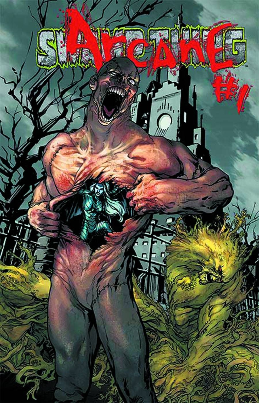 Swamp Thing - Arcane #23.1 (Virgin Cover) #SwampThing #New52 #DC (Cover Artist: Jesus Saiz) On Sale: 9/18/2013