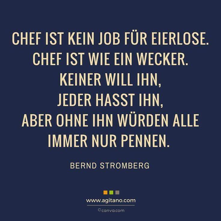 #chef #büro #arbeit #stromberg #zitate | Sprüche, Zitate ...