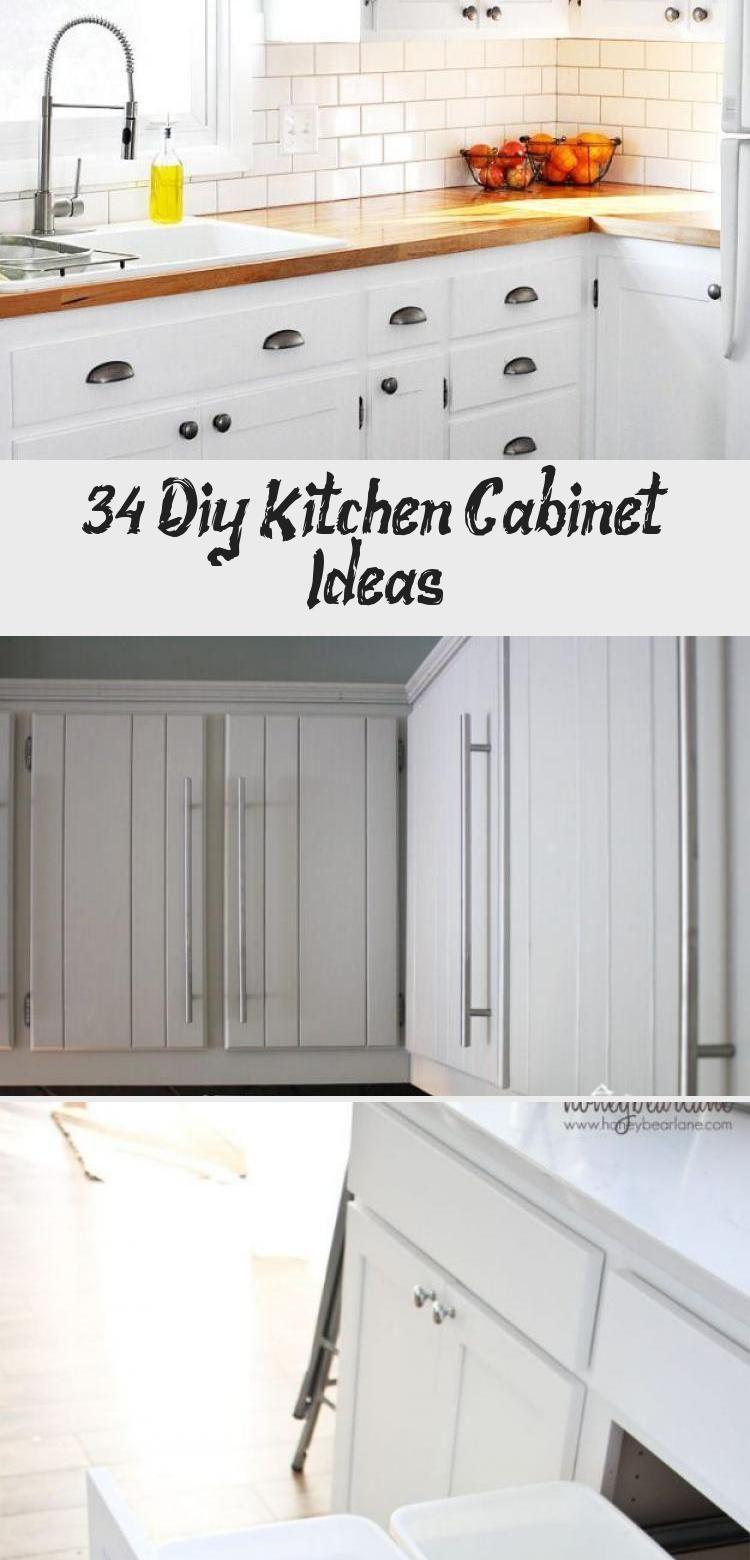 34 Diy Kitchen Cabinet Ideas Cabinet Diy Ideas Kitchen In 2020 Diy Kitchen Cabinets Custom Kitchen Cabinets Cheap Kitchen Cabinets