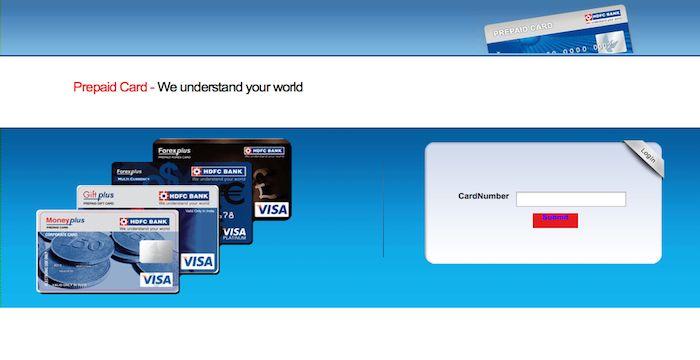 Hdfc forex card registration