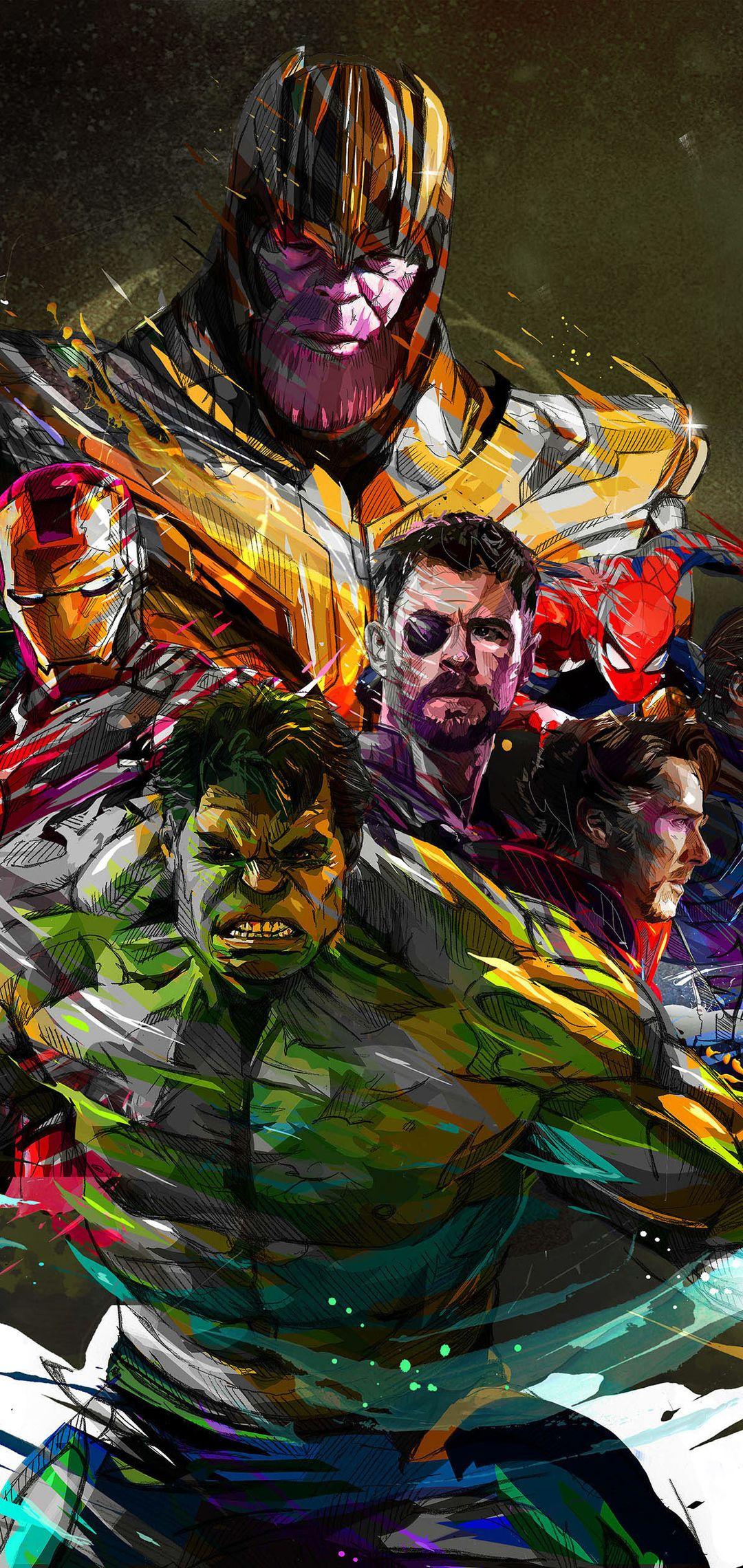1080x2280 Marvel Avengers One Plus 6 Huawei P20 Honor View 10 Vivo Y85 Oppo F7 Xiaomi Mi A2 Hd 4k Wallp Marvel Comics Wallpaper Avengers Art Avengers Wallpaper
