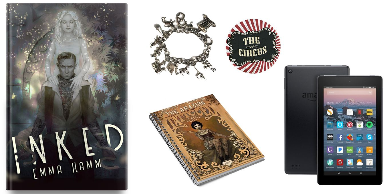 Win a circus starter pack during cover reveal month with