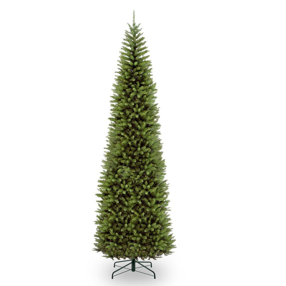 National Tree Company 12 Ft Kingswood Fir Pencil Artificial Christmas Tree Kw7 500 120 Pencil Christmas Tree Artificial Christmas Tree Pencil Trees