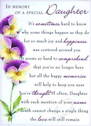 In Loving Memory Of My Daughter : loving, memory, daughter, Daughter..., Birthday, Quotes, Daughter,, Daughter, Poems,, Heaven
