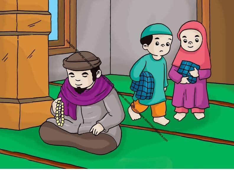 Gambar 28 Berzikir Dan Berdoa Selesai Shalat Ebook Anak Di