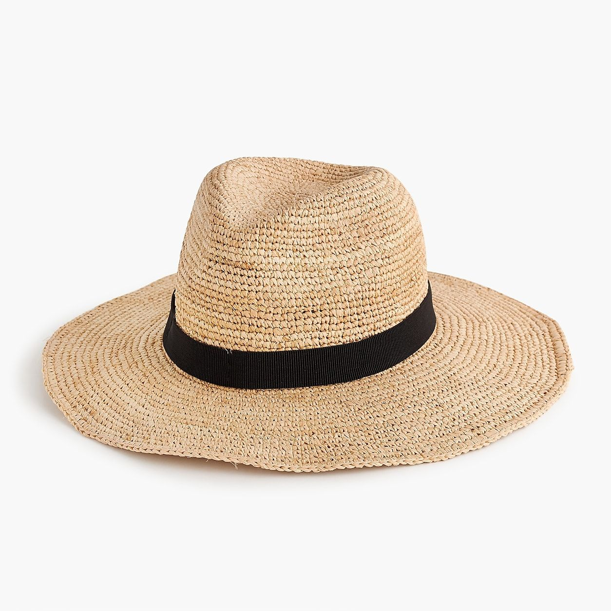 53382aef8d7e9 Wide-Brim Packable Straw Hat