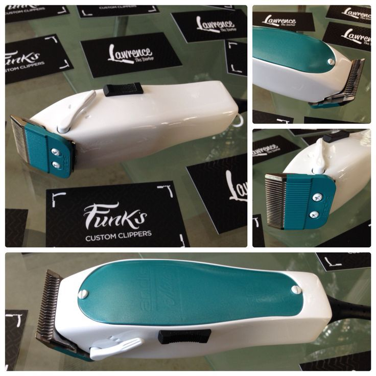Personalizados Por Funk S Barber Accessories Barber Clippers Teal Accessories