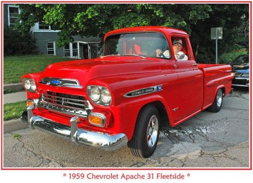 Specialcar 1959 Chevy Apache Pickup Trucks Chevy Trucks