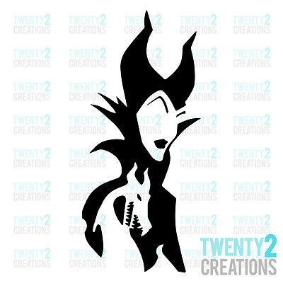 3 47 Maleficent Decal Disney Sleeping Beauty Sticker