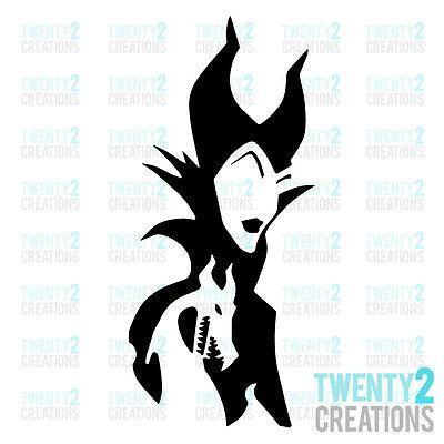 3 47 Maleficent Decal Disney Sleeping Beauty Sticker