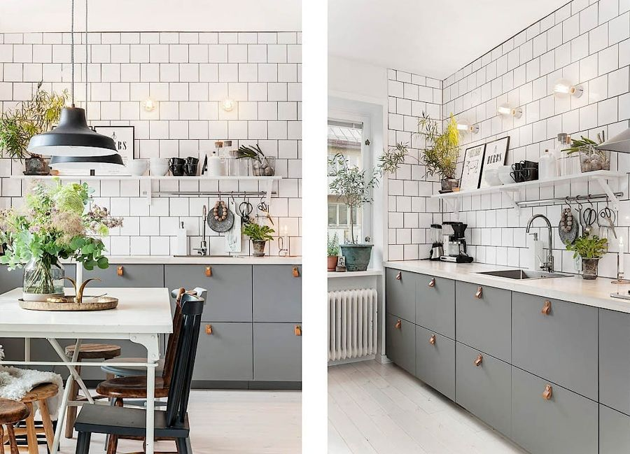 Cocina con azulejos blancos   Cocinas   Pinterest   Cocinas con ...