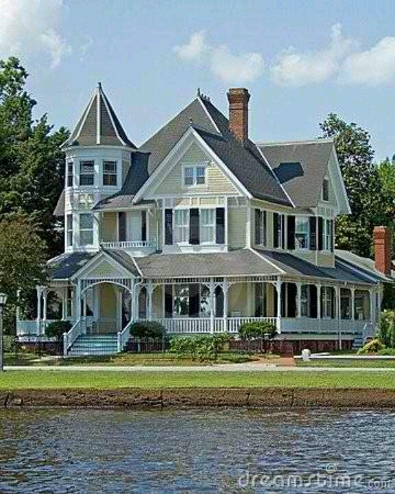 Victorian With Wrap Porch Water Front Sold Home