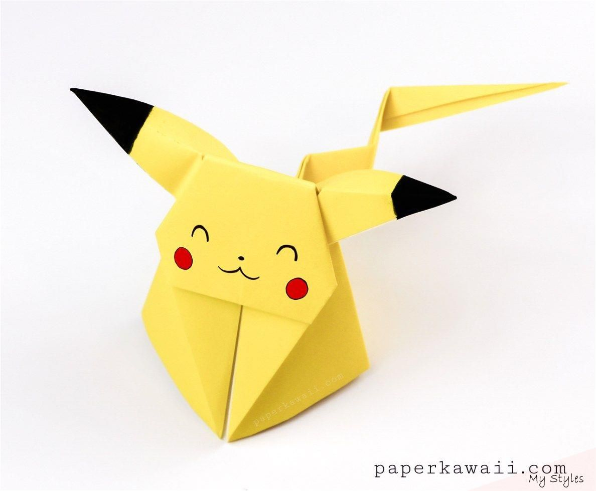 Photo of Origami Pikachu Tutorial – Süßes Origami Pokemon! – Papier Kawaii #origami