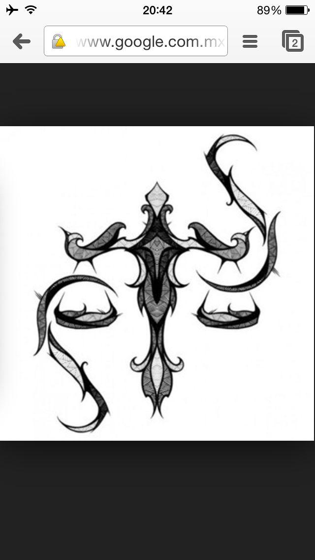 Tribal Libra Libra Sign Tattoos Libra Art Libra Tattoo