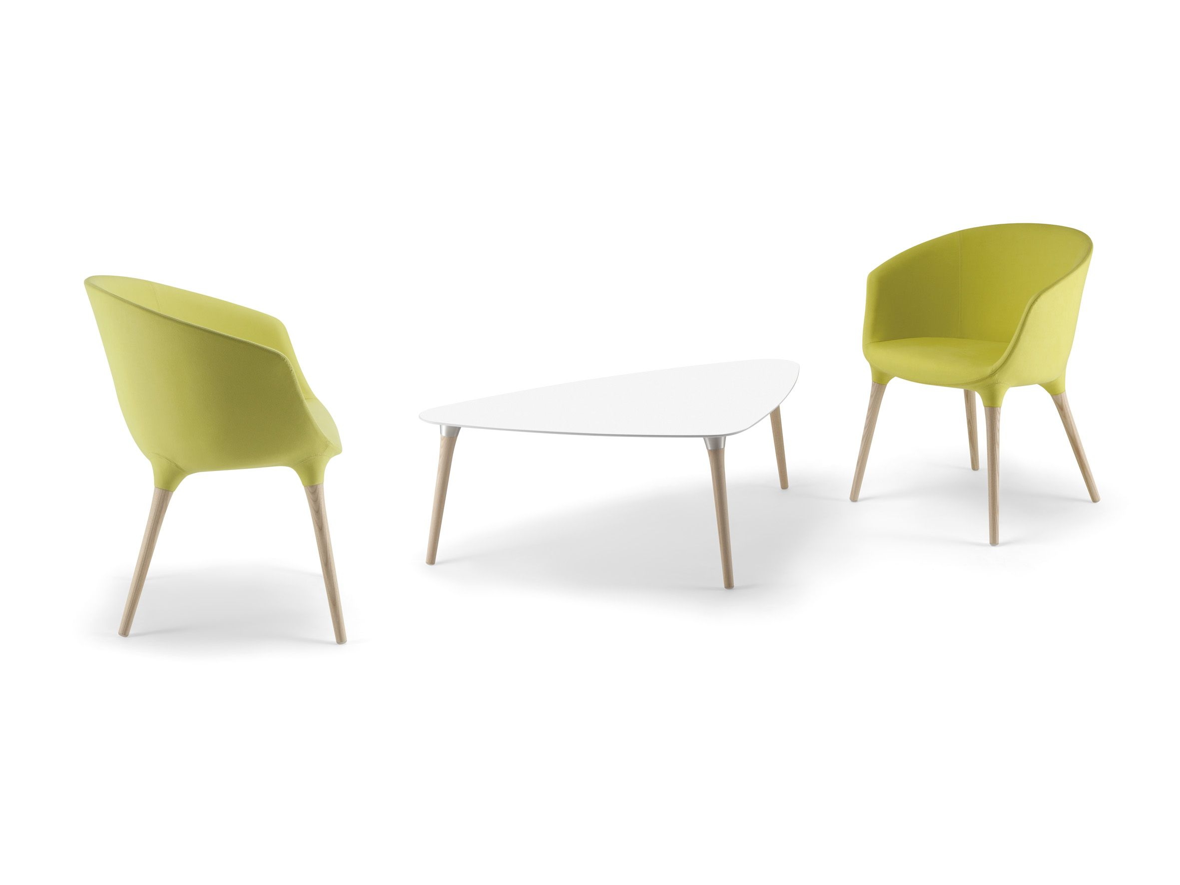 Cizeta Sedie ~ Spring armchairs and coffee table by cizeta premium collection