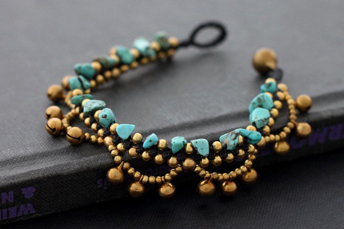 Chandelier turquoise bracelet mostacilla pinterest turquoise