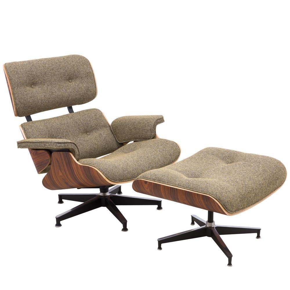 Eames Lounge Chair Ottoman Premium Reproduction In 2020 Eames Style Lounge Chair Chair Ottoman Set Chair Ottoman