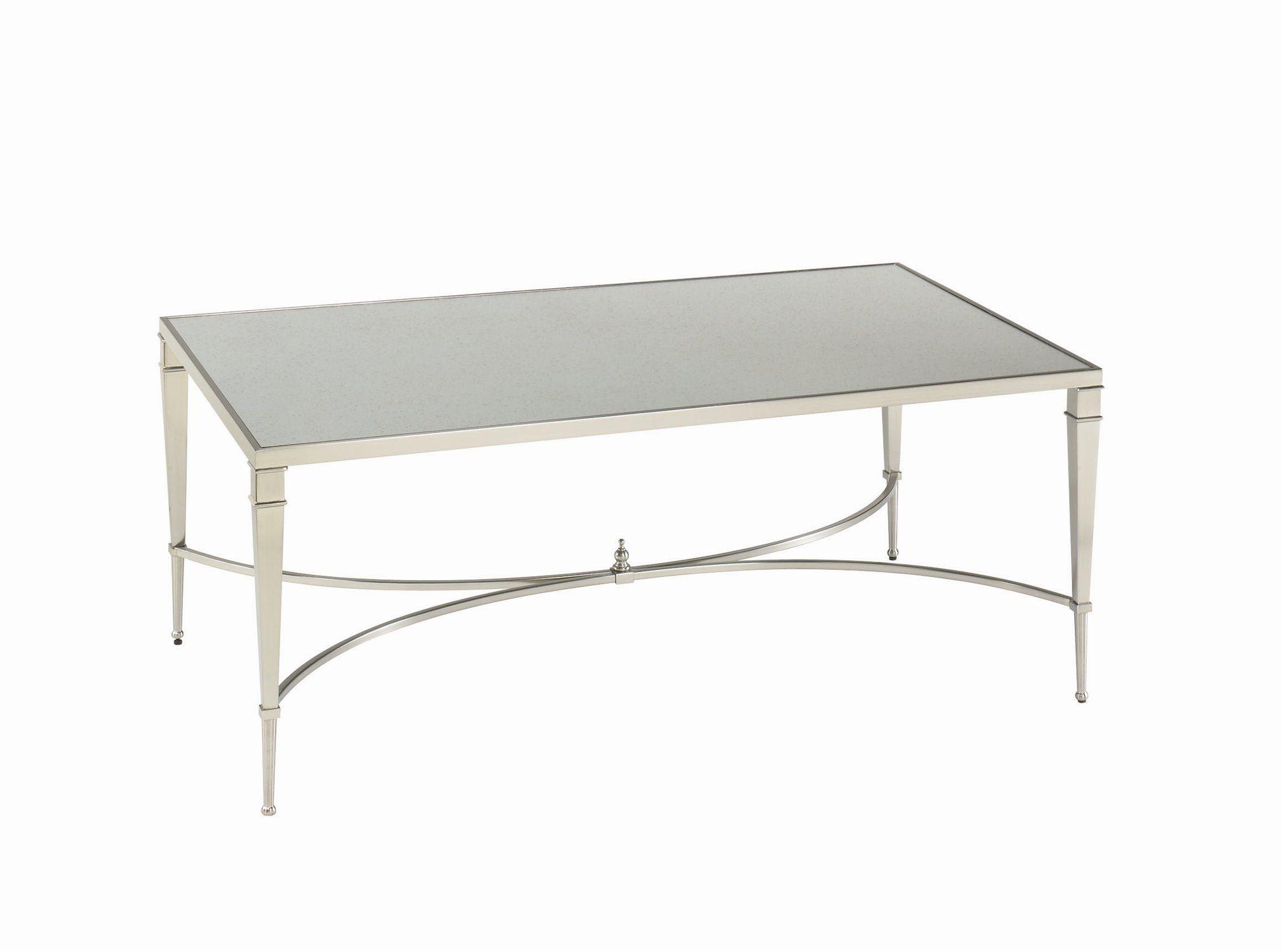 Hammary mallory x rectangular coffee table decor