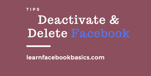 How to deactivate or delete facebook account link permanently right how to deactivate or delete facebook account link permanently right now ccuart Gallery