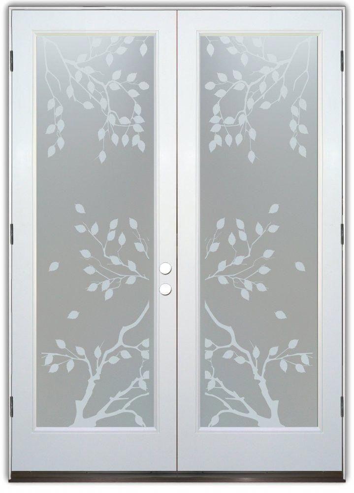 Frosted Gl Pantry Door Backdoor 5 Foot Interior French Doors 20190503