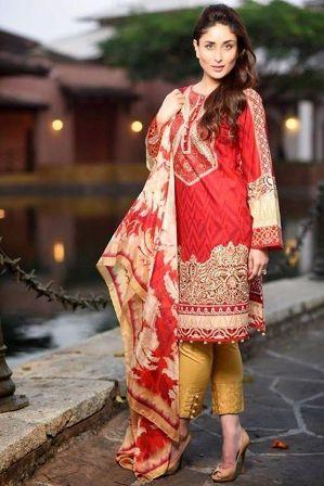 Kareena Kapoor In Faraz Manan Crescent Lawn 2015 Gagsmedia Ladies Tops Fashion Fashion Black Pakistani Dress