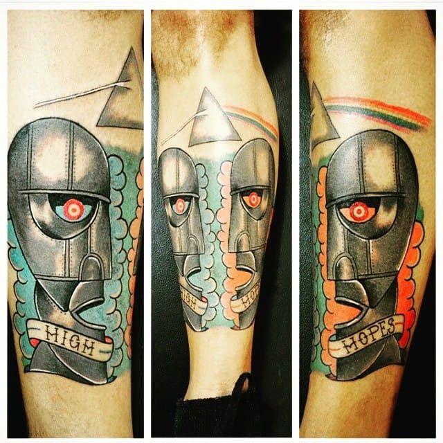 George Floyd Tattoo: 25 Pink Floyd Tattoos That Got Us Seeing The Dark Side Of