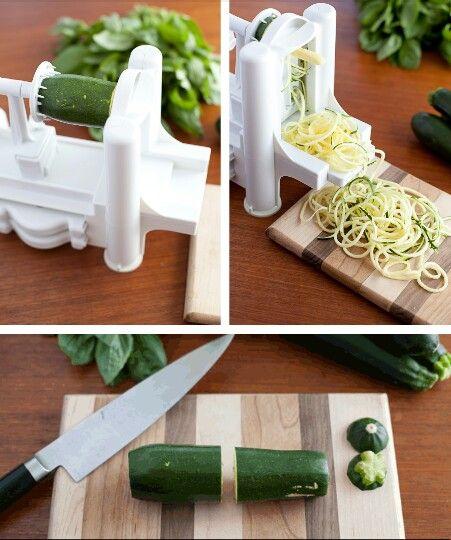 Maquina para hacer fideos de succhini