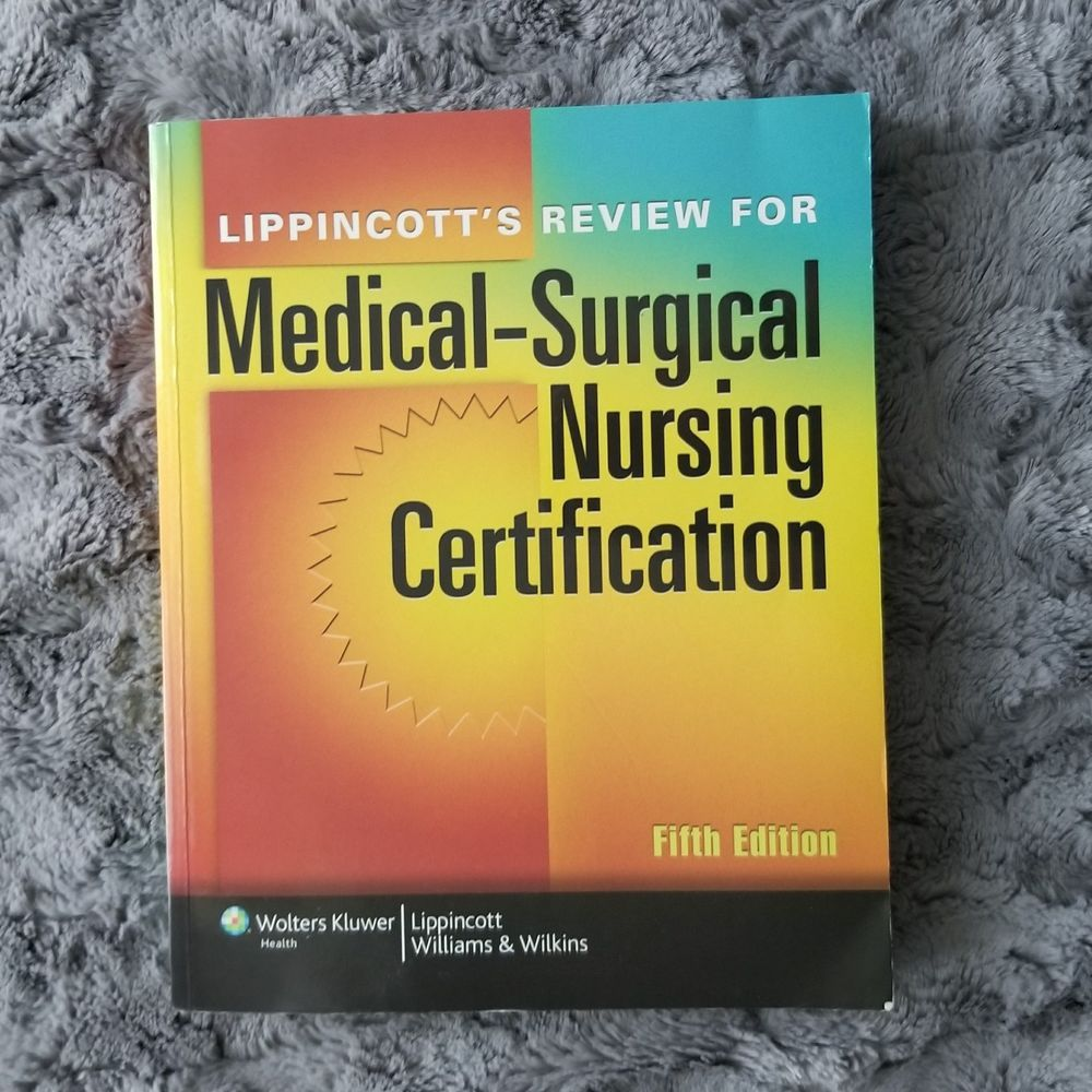 lippincotts review for medicalsurgical nursing certification