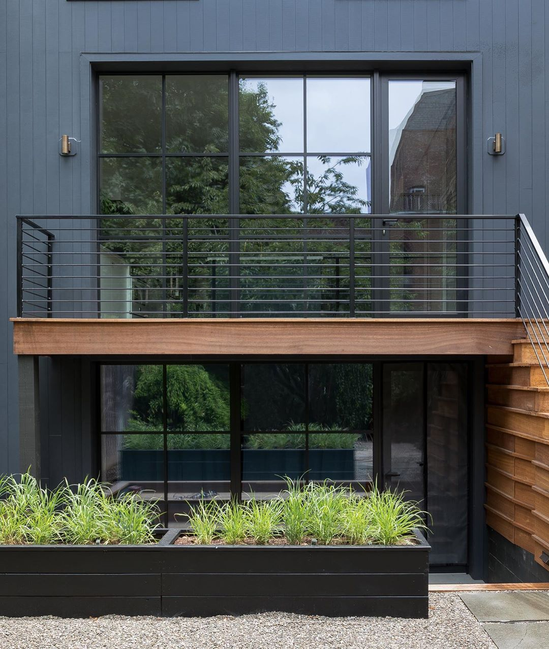 Backyard Facades We Do A Lot Of Them Here In Jerseycity And Hoboken We Try To Keep Them Simple Well Scaled And Minimalist Garden Garden Design Backyard