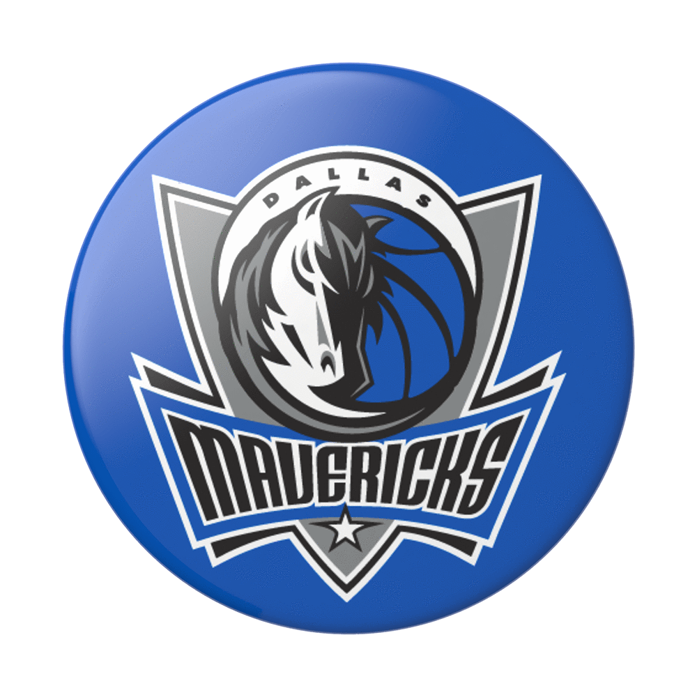PopSockets PopGrip Dallas Mavericks Logo Swappable Phone