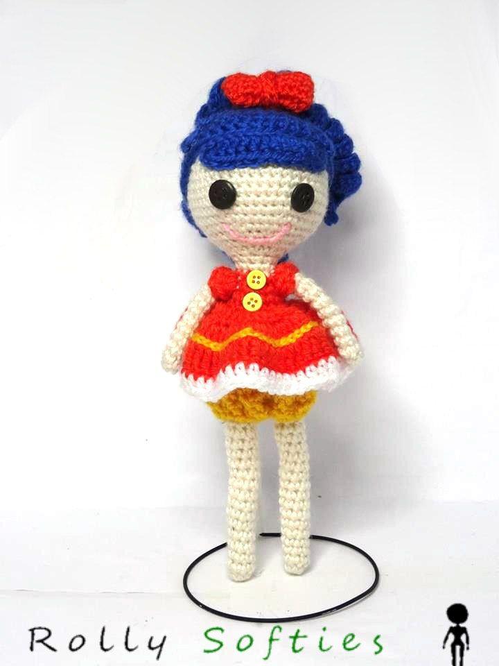 Bambola Lalaloopsy amigurumi, schema gratis | muñeca | Pinterest ...